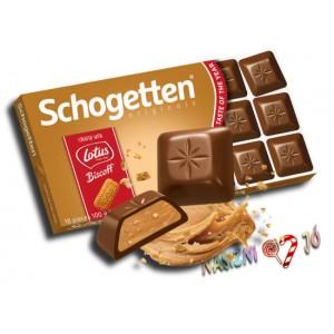Schogetten - Lotus kekszes csokoládé